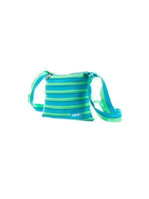Сумка Medium Shoulder Bag, цвет голубой/салатовый ZIPIT. Цвет: голубой, салатовый