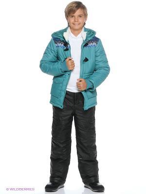 Куртка PELICAN. Цвет: темно-зеленый
