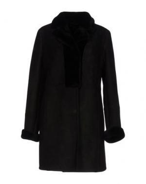 Пальто OLIVIERI. Цвет: черный
