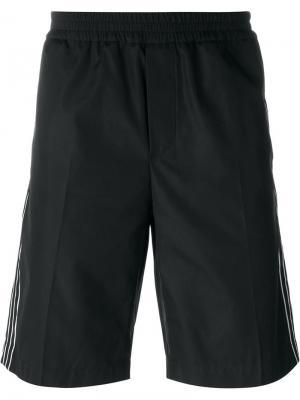 Спортивные брюки с полосками по бокам Nº21. Цвет: чёрный