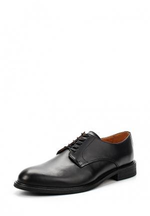 Туфли Selected Homme. Цвет: черный