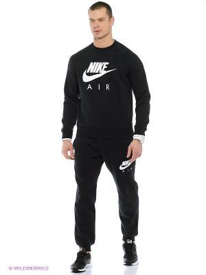 Свитшот Nike. Цвет: черный, белый