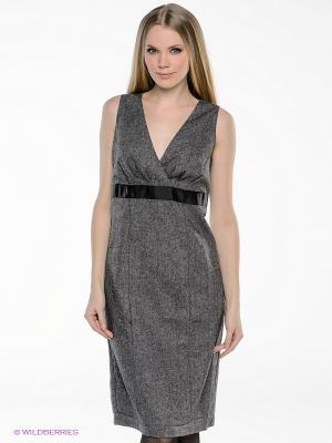 Платье QUIOSQUE. Цвет: серый