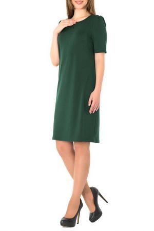 Платье S&A style. Цвет: темно-зеленый