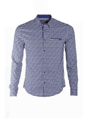Рубашка Dairos. Цвет: белый, черный