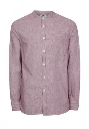 Рубашка Topman. Цвет: розовый