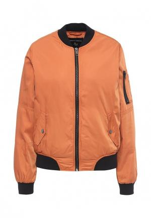 Куртка утепленная Dorothy Perkins. Цвет: оранжевый