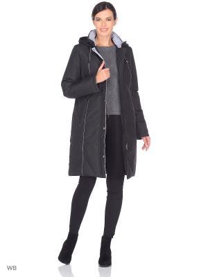 Пальто INKERI Maritta. Цвет: черный