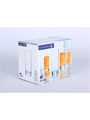 Стаканы Luminarc. Цвет: прозрачный