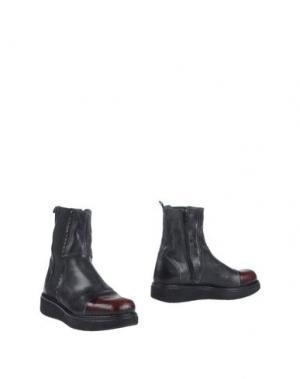 Полусапоги и высокие ботинки BLACKMAIL. Цвет: свинцово-серый