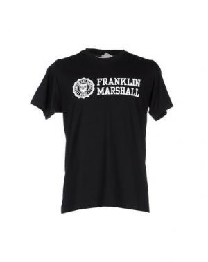 Футболка FRANKLIN & MARSHALL. Цвет: черный