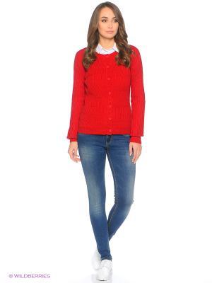 Кардиган Flo&Jo. Цвет: красный