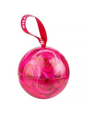 Чай Hilltop Земляника со сливками 80 гр., цветочный шар Розы. Цвет: черный