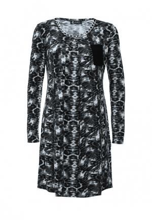 Платье Sahera Rahmani. Цвет: черно-белый