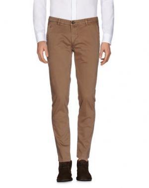 Повседневные брюки ALPHA STUDIO. Цвет: коричневый