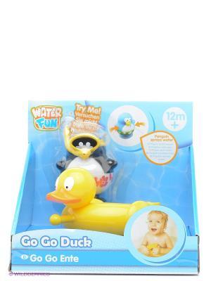 Игрушка для ванны Утка Toy Target. Цвет: желтый