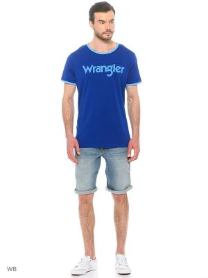 Шорты COLTON Wrangler. Цвет: голубой