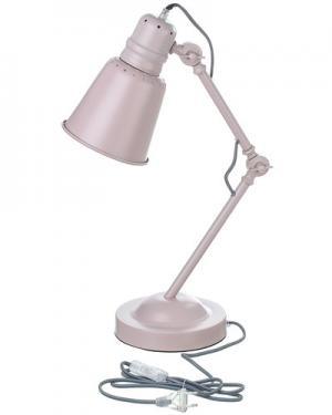 Лампа Sebra. Цвет: роза