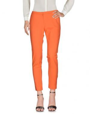 Повседневные брюки KI6? WHO ARE YOU?. Цвет: оранжевый