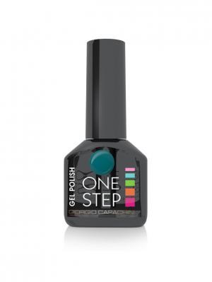 Однофазный гель-лак One Step №80, 6 мл GIORGIO CAPACHINI. Цвет: темно-зеленый