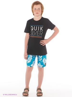 Шорты  SHRIMP TRUCK VL UE18 YOUTH Quiksilver. Цвет: голубой, белый