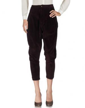 Повседневные брюки MNML COUTURE. Цвет: баклажанный