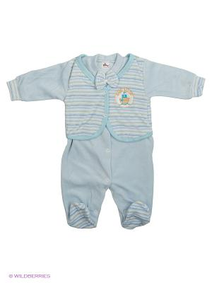 Комбинезон Babycollection. Цвет: голубой