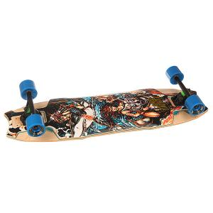Лонгборд  Hollow Tech Wolf Shark Assorted 10 x 35.5 (90 см) Landyachtz. Цвет: мультиколор