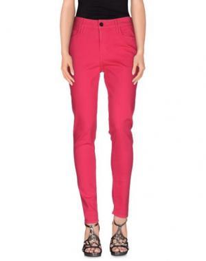 Джинсовые брюки BLACK ORCHID. Цвет: фуксия