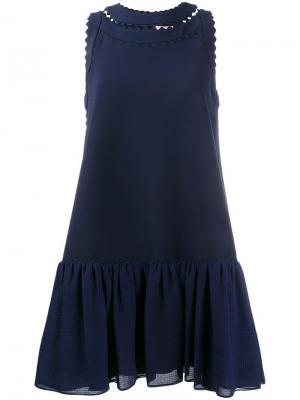 Платье Oshima Roksanda. Цвет: синий