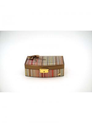 Мини-шкатулка для украшений  Мерцание JARDIN D'ETE. Цвет: бронзовый, золотистый