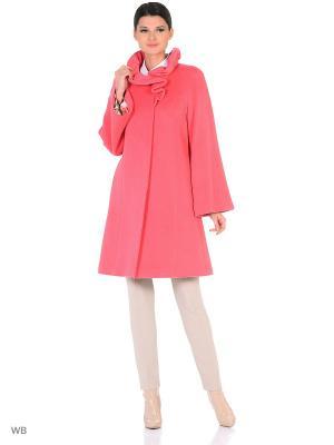 Пальто Lea Vinci. Цвет: розовый