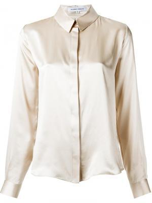 Silk shirt Gloria Coelho. Цвет: телесный
