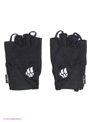 Перчатки для фитнеса Mens Training Gloves Mad Wave. Цвет: черный