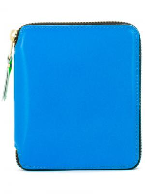 All around zip wallet Comme Des Garçons Play. Цвет: синий