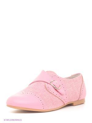 Туфли Зебра. Цвет: розовый