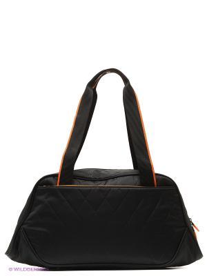Сумка ANTAN. Цвет: черный, оранжевый