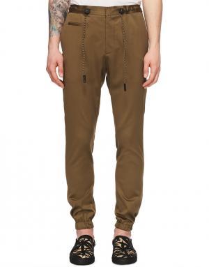 Спортивные брюки мужские Marc Jacobs. Цвет: бежевый
