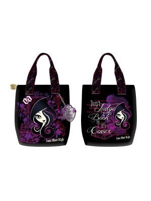 Сумка Fashion bag Ever After High черный с фиолетовым Mattel. Цвет: фиолетовый