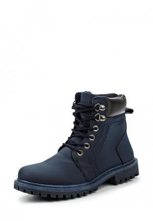 Ботинки TT. Цвет: синий