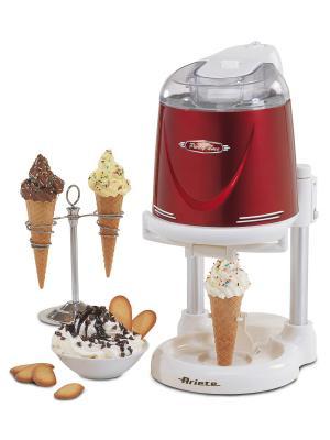 Ariete Прибор для приготовления мягкого мороженого 634 PARTY. Цвет: красный