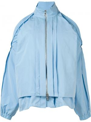 Куртка на молнии Caitlin Price. Цвет: синий