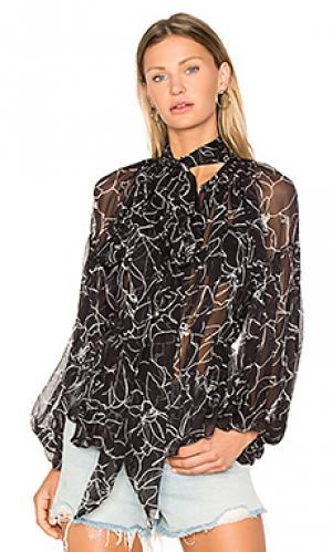 Блузка tuberose Lover. Цвет: черный