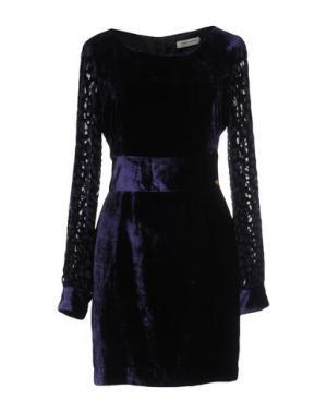 Короткое платье ANGELO MARANI. Цвет: фиолетовый