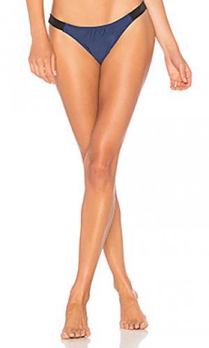 Ленточные плавки бикини CHROMAT. Цвет: синий