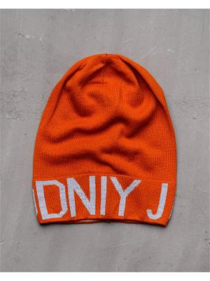 Шапка Modniy JUK. Цвет: оранжевый