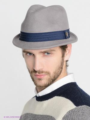 Шляпа Goorin Brothers. Цвет: серый, темно-синий