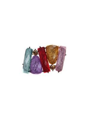 Кулон-брошь Olere. Цвет: золотистый, красный, фиолетовый