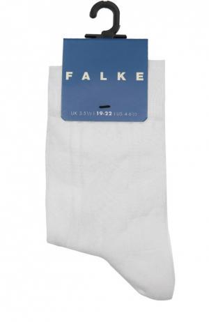 Носки с рельефным узором Falke. Цвет: белый