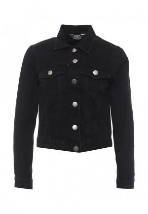 Куртка джинсовая Dorothy Perkins. Цвет: черный